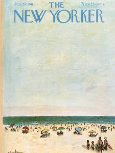 The New Yorker Cover - July 29, 1961 by Abe Birnbaum