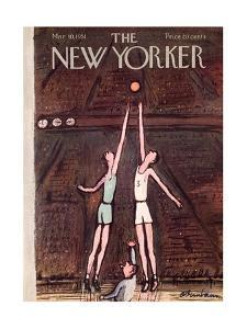 The New Yorker Cover - March 10, 1951 by Abe Birnbaum