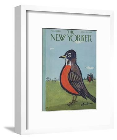 The New Yorker Cover - March 14, 1959