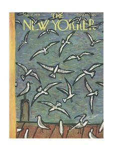 The New Yorker Cover - May 17, 1958 by Abe Birnbaum