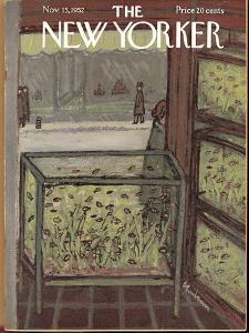 The New Yorker Cover - November 15, 1952 by Abe Birnbaum