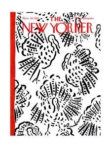 The New Yorker Cover - November 30, 1968 by Abe Birnbaum