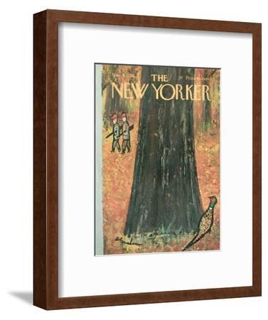 The New Yorker Cover - November 5, 1966