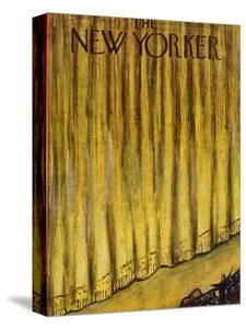 The New Yorker Cover - November 6, 1954 by Abe Birnbaum