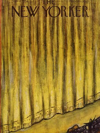 The New Yorker Cover - November 6, 1954