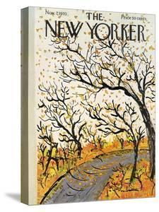 The New Yorker Cover - November 7, 1970 by Abe Birnbaum