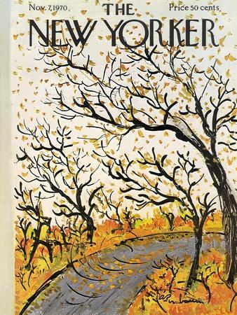 The New Yorker Cover - November 7, 1970