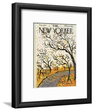 The New Yorker Cover - November 7, 1970