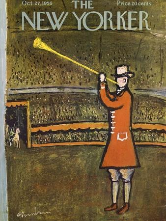 The New Yorker Cover - October 27, 1956