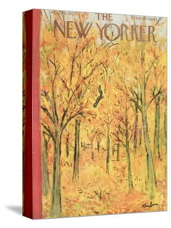 The New Yorker Cover - October 8, 1955