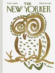 The New Yorker Cover - September 10, 1966 by Abe Birnbaum