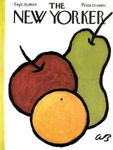 The New Yorker Cover - September 26, 1964 by Abe Birnbaum