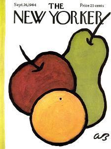 The New Yorker Cover - September 26, 1964 by Abe Birnbaum