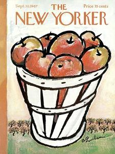 The New Yorker Cover - September 30, 1967 by Abe Birnbaum