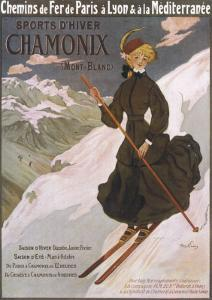 Come to Chamonix for the Very Finest Skiing by Abel Faivre