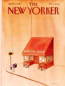 The New Yorker Cover - April 5, 1982 by Abel Quezada