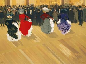 Les Danseuses Poster by Abel Truchet