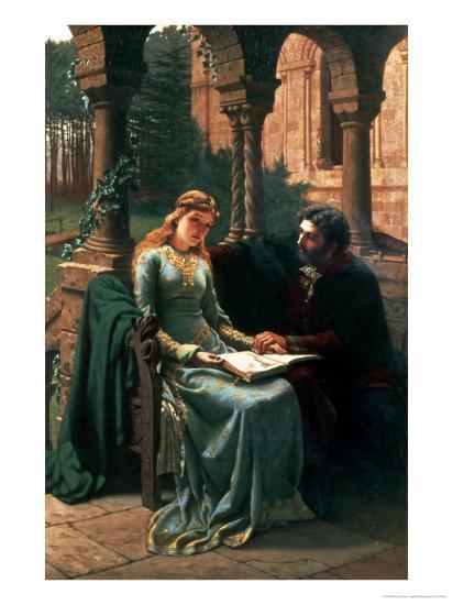 Abelard and His Pupil Heloise, 1882-Edmund Blair Leighton-Giclee Print
