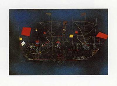 Abenteuer-Schiff-Paul Klee-Art Print
