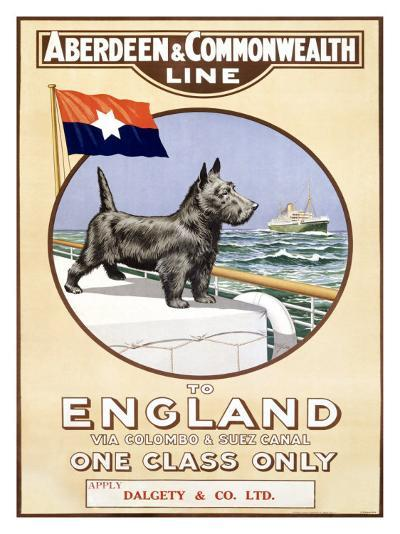 Aberdeen and Commonwealth Line-P. H. Yorke-Giclee Print