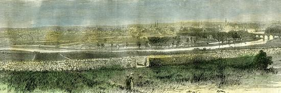 Aberdeen from the South Uk 1885--Giclee Print