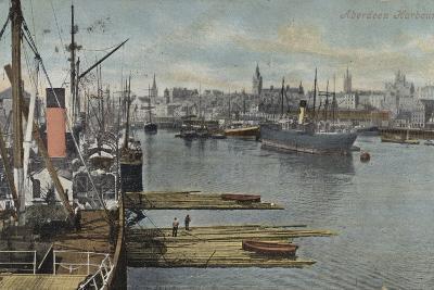Aberdeen Harbour--Photographic Print