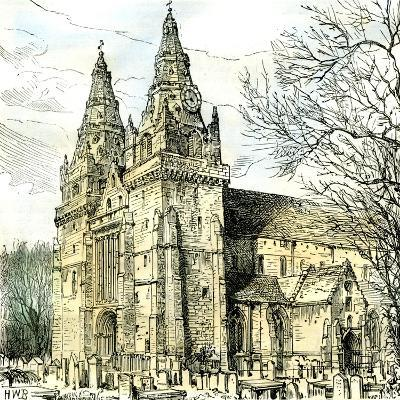 Aberdeen Old Machar Cathedral 1885, UK--Giclee Print