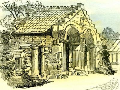 Aberdeen Summer House in Dee Street 1885 UK--Giclee Print