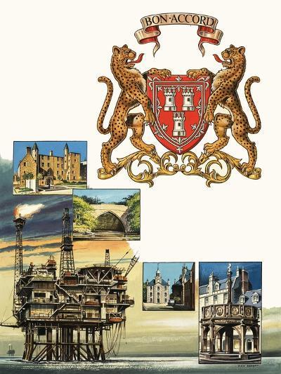 Aberdeen-Dan Escott-Giclee Print