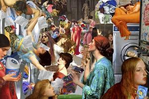Pre-Raphaelite Laundromat by Aberrant Art