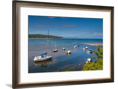 Abersoch, Llyn Peninsula, Gwynedd, Wales, United Kingdom, Europe-Alan Copson-Framed Photographic Print