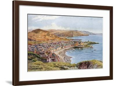 Aberystwyth from Constitution Hill-Alfred Robert Quinton-Framed Giclee Print