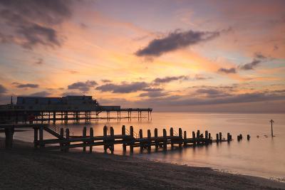 Aberystwyth Pier, Ceredigion, West Wales, United Kingdom, Europe-Billy Stock-Photographic Print