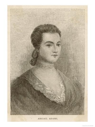 Abigail Adams Nee Smith--Giclee Print
