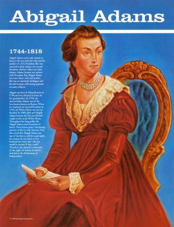 remember the ladies letter abigail print by 24267 | abigail adams u l e75oo0
