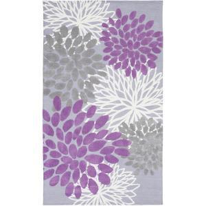 Abigail Kids Rug - Orchid/Lavender 5' x 8'