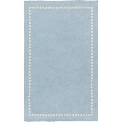 Abigail Kids Rug - Sky Blue/Ivory 5' x 8'--Home Accessories