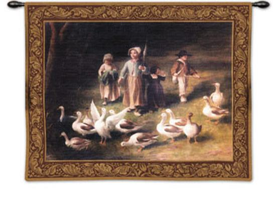 Abigail's Watch-Riccardo Bianchi-Wall Tapestry