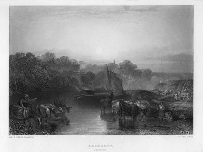 Abingdon, 19th Century-C Cousen-Giclee Print