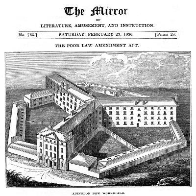 Abingdon Workhouse, Oxfordshire, Built for the Abingdon Union, 1836--Giclee Print