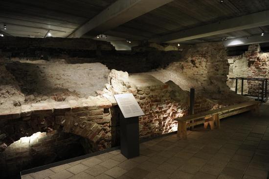 Aboa Vetus and Ars Nova, Aboa Vetus, Remains of Six Medieval Buildings, Finland--Giclee Print