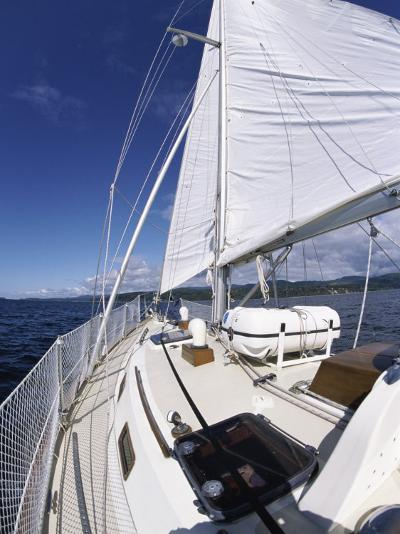 Aboard a Sailboat--Photographic Print