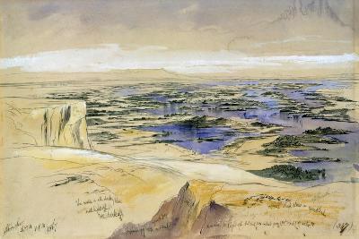 Aboo Seer, 4th Febuary 1867-Edward Lear-Giclee Print