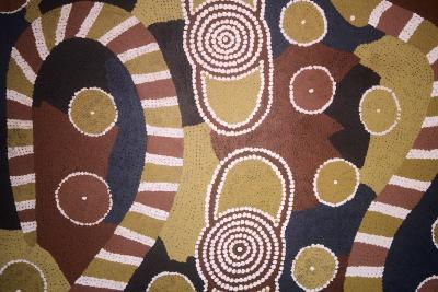 Aboriginal Art-Australian School-Giclee Print