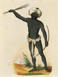 Aborigine from Island of Vatou-Lele (Fiji Islands)