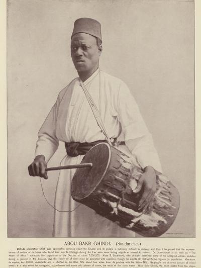 Abou Bakr Ghindi, Soudanese--Photographic Print