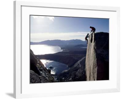 Above Emerald Bay, Lake Tahoe, California, USA--Framed Photographic Print