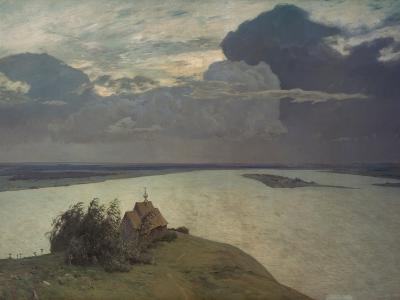 Above the Eternal Peace, 1894-Isaak Iljic Lewitan-Giclee Print