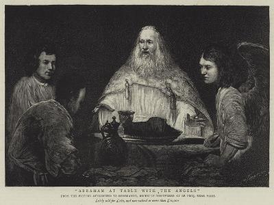 Abraham at Table with the Angels--Giclee Print