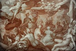 A Feast of the Gods, 1598 by Abraham Bloemaert